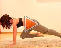 Фитнес-видео от Юлии Богдан на пресс - часть 1