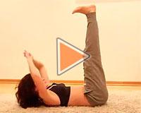 Фитнес-видео от Юлии Богдан на пресс - часть 2