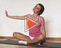 Растяжка верхней части тела (видео)
