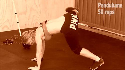 Тренировка недели от Зузаны Лайт №4 (упражнение 1)