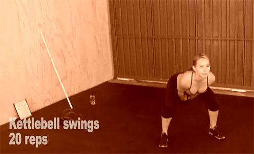 Тренировка недели от Зузаны Лайт №4 (упражнение 3)