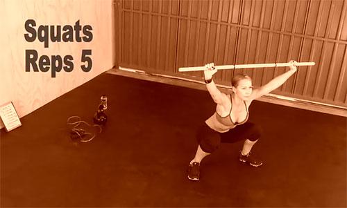 Тренировка недели от Зузаны Лайт №4 (упражнение 5)