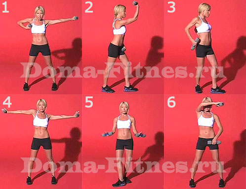 Лучшие упражнения для рук от Трейси Андерсон