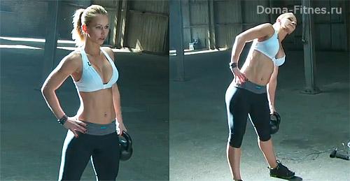Зузана Лайт - Тренировка недели №7 (упражнения 4)