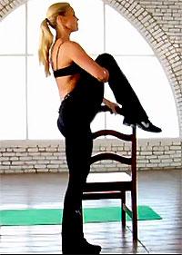 Трейси Эффингер (Tracy Effinger) - тренировка на нижнюю часть тела