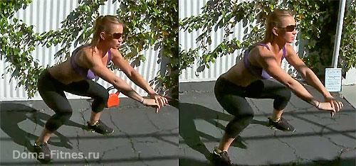 Зузана Лайт - тренировка №8 (упражнение 1)