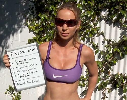 Зузана Лайт (Бодирок) - тренировка недели №8 (онлайн видео)