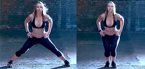 Зузана Лайт - тренировка недели №9 (упражнение 4)