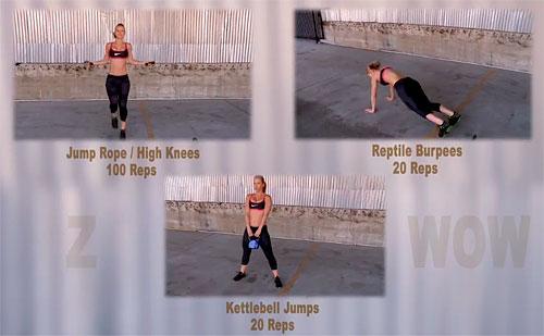Зузана Лайт - упражнения тренировки недели 10