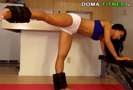 тренировка для ног и ягодиц - упражнение 2