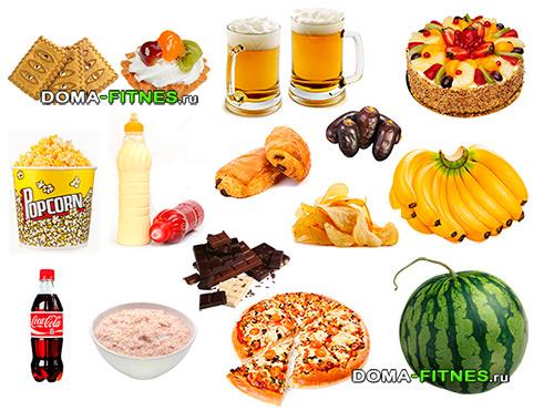 сложные углеводы продукты для похудения
